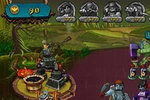 Vue d'un jeu mobile