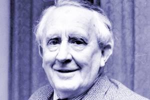 Portrait de JRR Tolkien